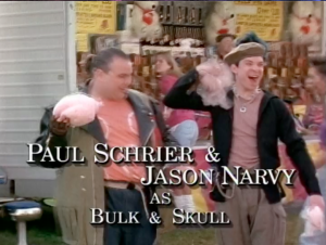 Paul Schrier & Jason Narvy as 'Bulk & Skull'