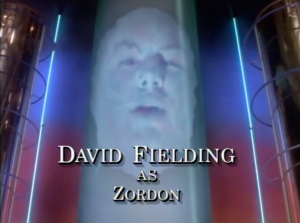 David Fielding as 'Zordon'