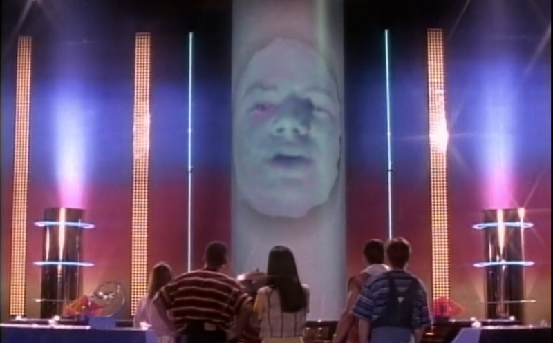 Zordon gives us some lengthy explanation