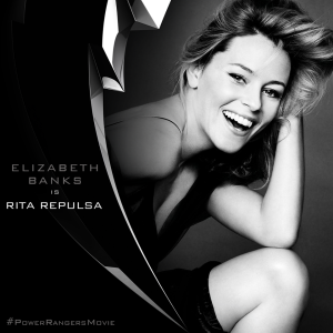 Elizabeth Banks is Rita Repulsa