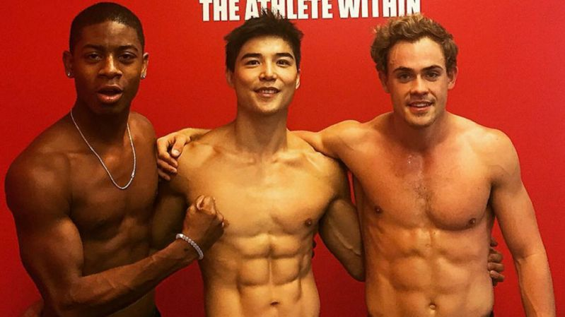 The Power Rangers boys are shredded