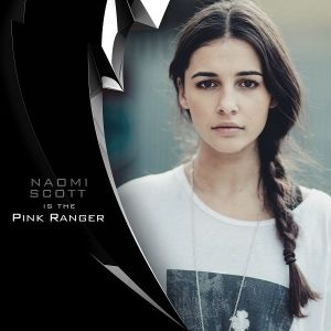 Naomi Scott as the Pink Ranger