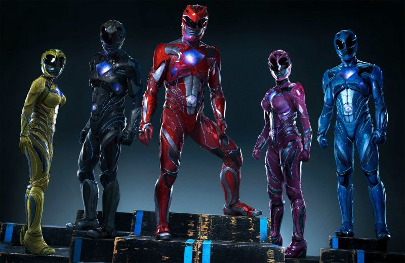 Power Rangers redesigned suits for the 2017 movie