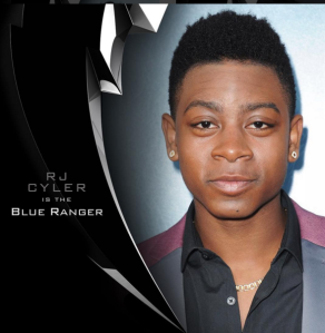 RJ Cyler as the Blue Ranger