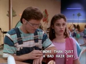 "Kim: ""More than just a bad hair day."""