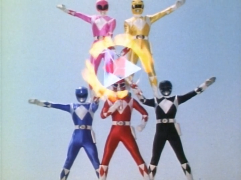 The Rangers powering up