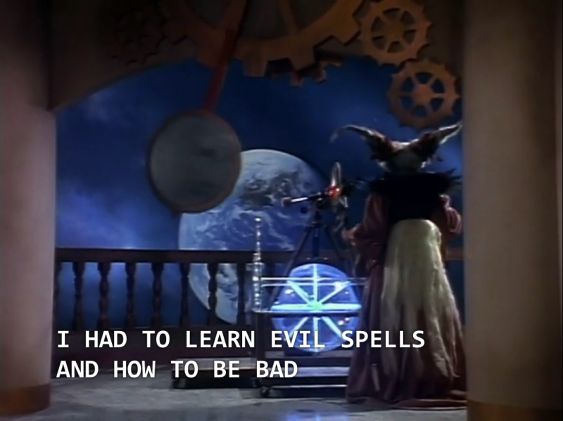 "Rita: ""I had to learn evil spells and how be bad."""