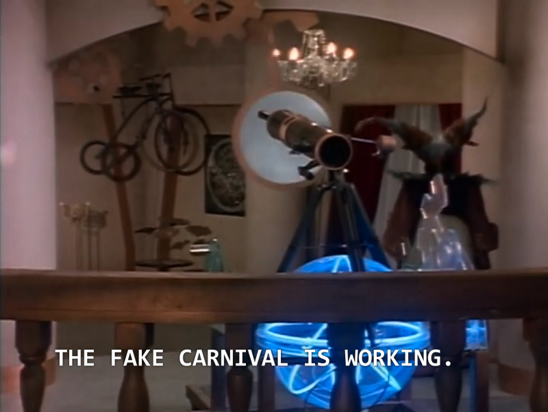 "Rita: ""The fake carnival is working!"""