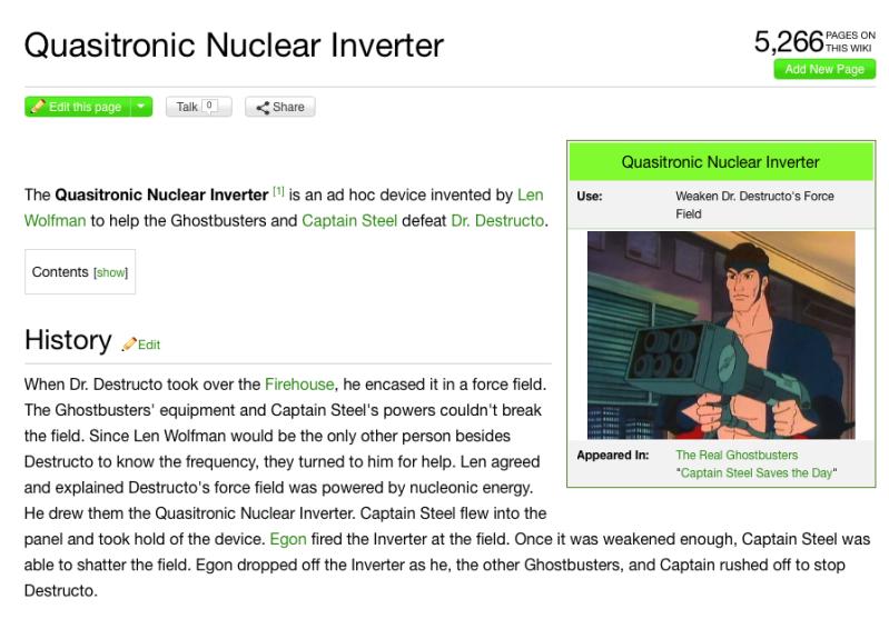Quasitronic Nuclear Inverter